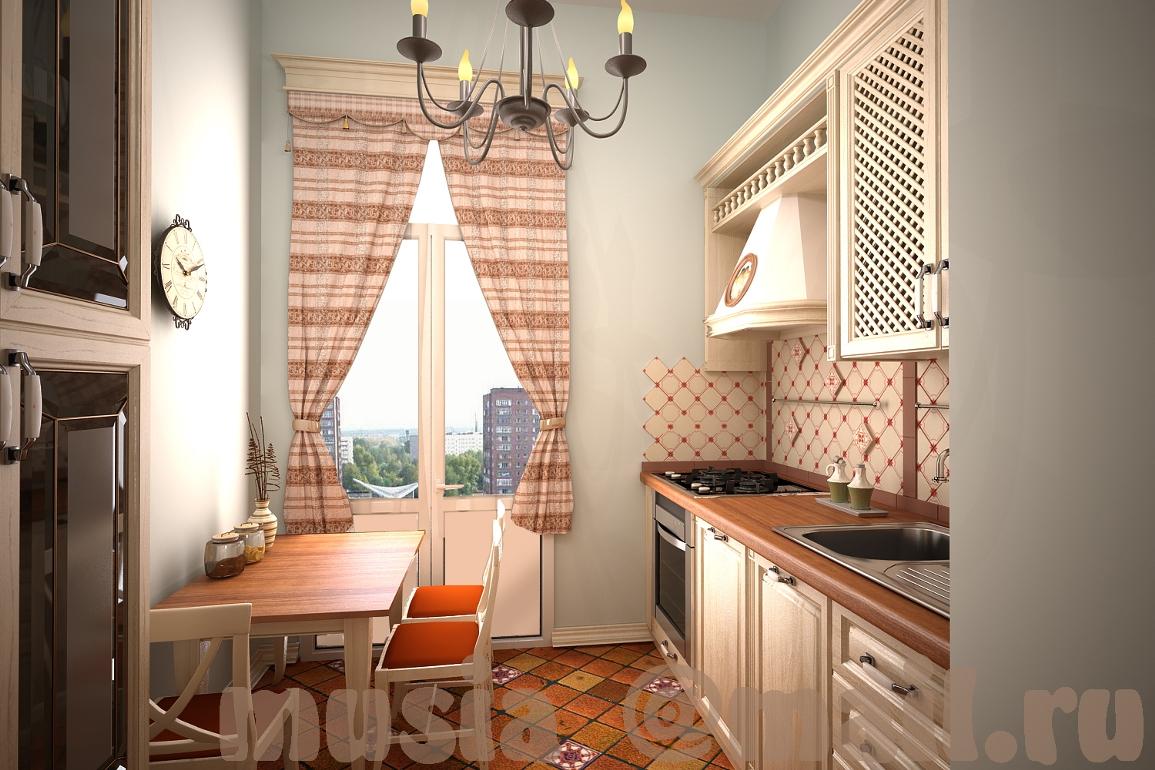 Дизайн кухни 4м на 4м